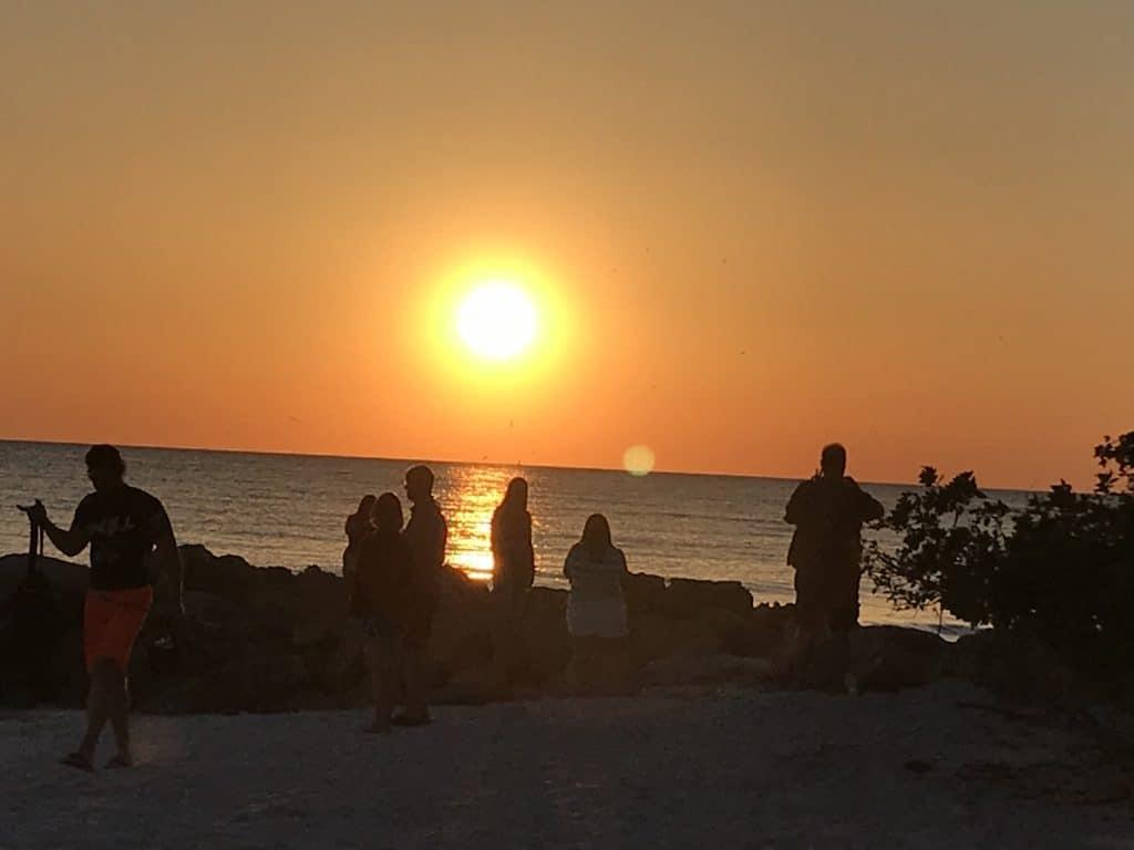 Sunset on Lido Beach, Sarasota, FL