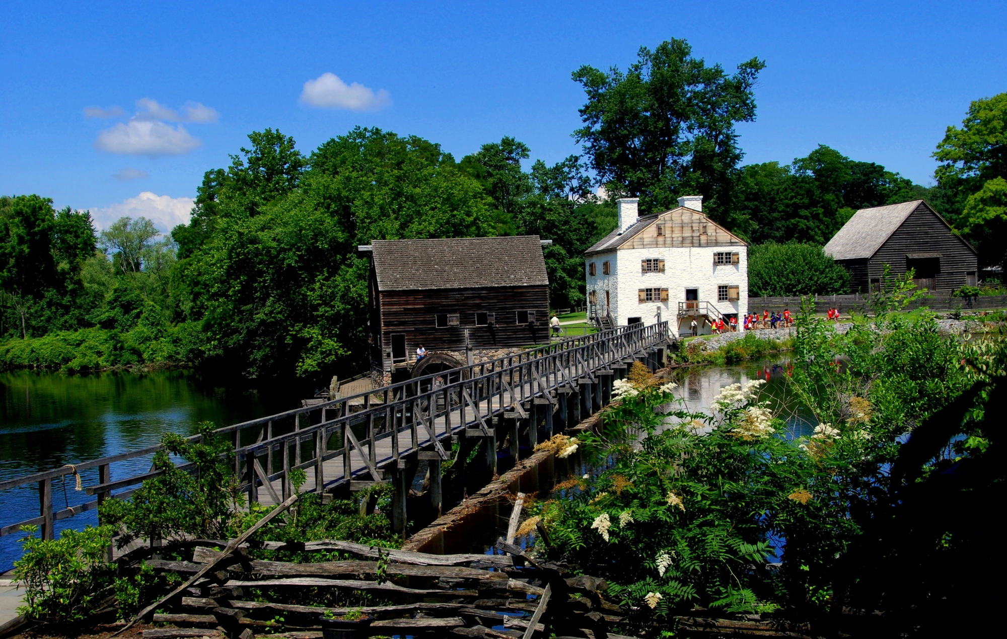 Philipsburg Manor, Tarrytown New York
