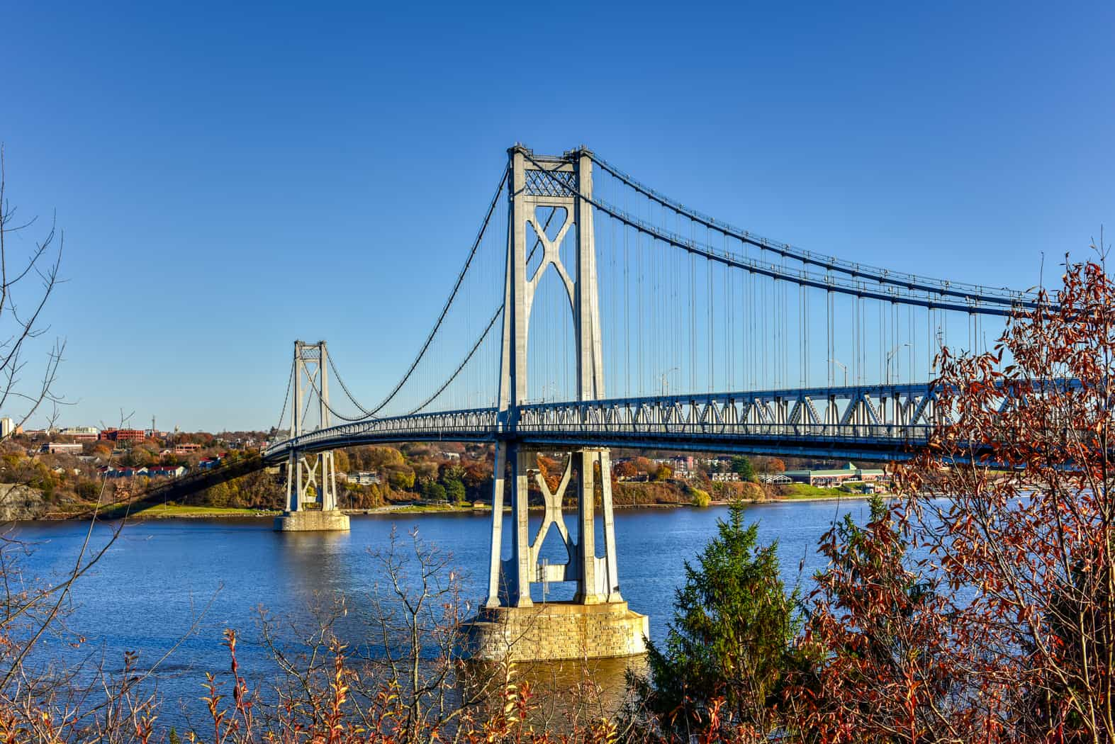 Mid-Hudson Bridge, Poughkeepsie New York