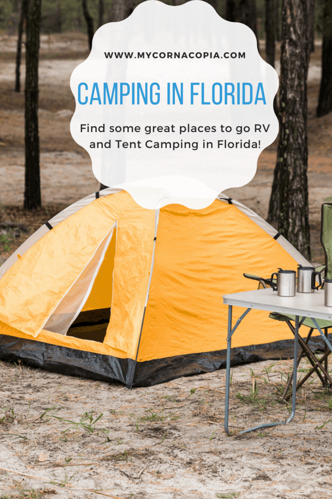 RV and Tent Camping in Florida | My Cornacopia Blog