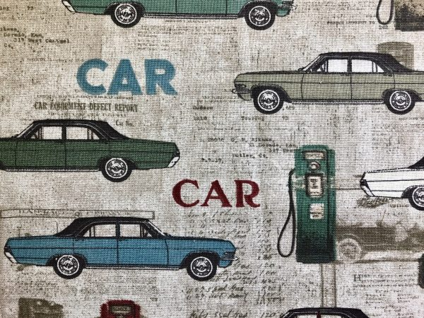 60's Cars Face Masks - My Cornacopia