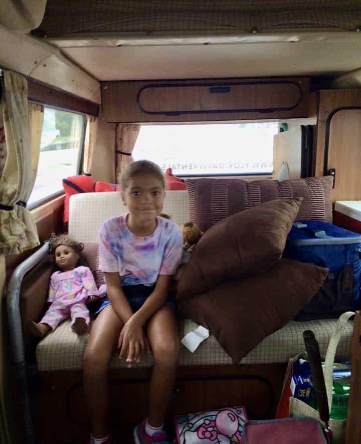 Inside Volkswagen Camper Van