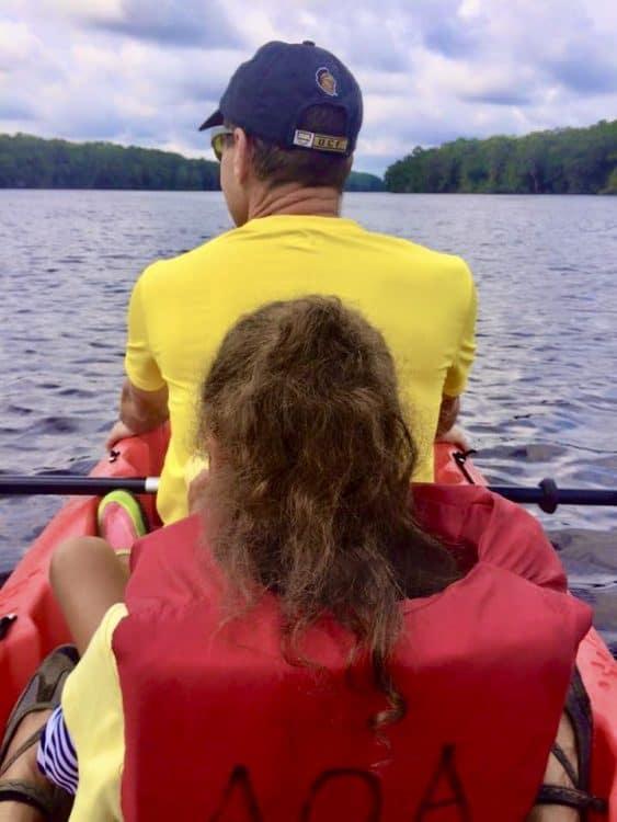 Kayaking on Swannee River