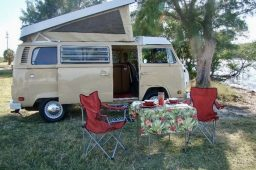 Family Fun In A Volkswagen Camper Van
