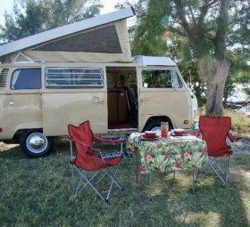 Family Fun In A Volkswagen Camper Van