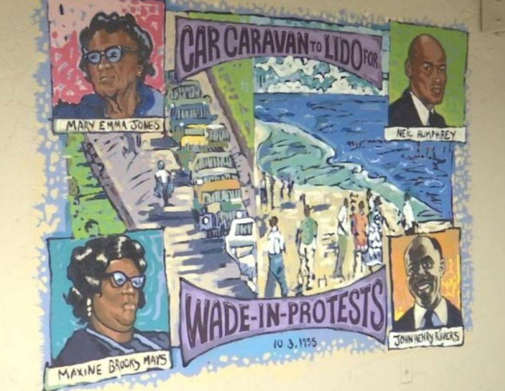 Mural Lido Beach Sarasota Black History